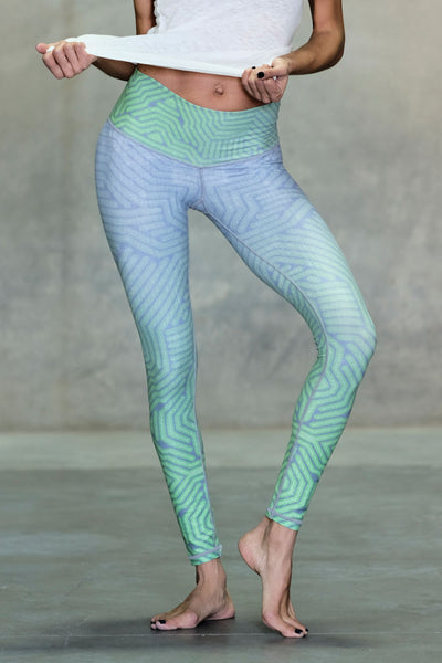 Green Apple Barefoot Legging