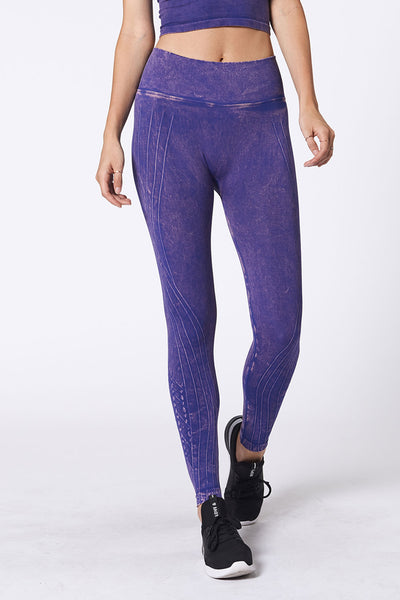 Mesa Legging - Ultramarine Wash