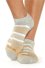 Sticky Be Socks Be Great Rio Grip Socks - Dune - Sculptique