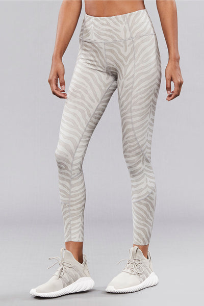 Bedford Tight - Silver Zebra