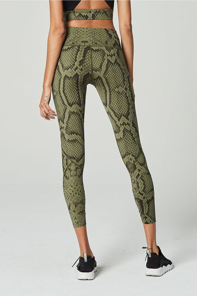 Varley Bedford Tight in Olive Snake - Sculptique