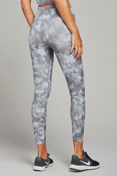 Bedford Tight in Silver Tie Dye