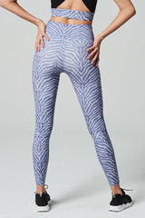 Varley Bedford Tight in Blue Zebra - Sculptique