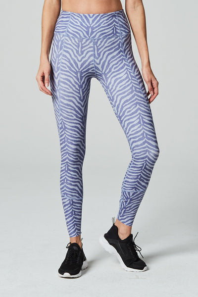 Bedford Tight in Blue Zebra