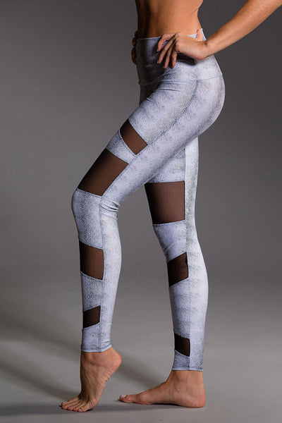 Onzie Bondage Legging - White Venom - Sculptique