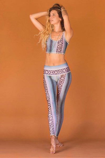 Border Towns Blue Hot Pant