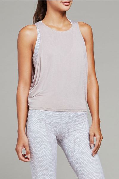 Buckley Crop Top - Shadow Blush