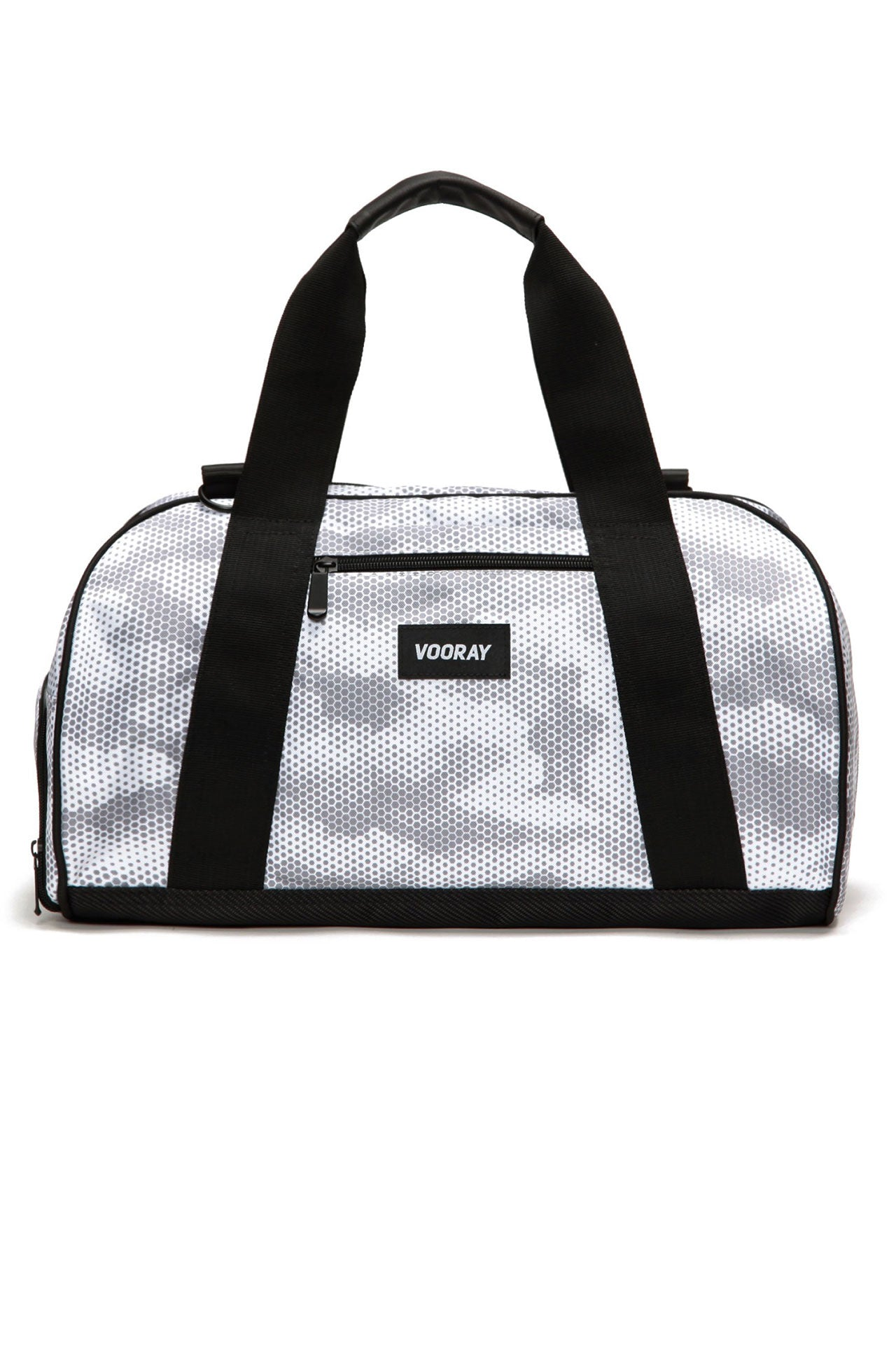Vooray Burner Gym Duffel - Snow Hex Camo - Sculptique