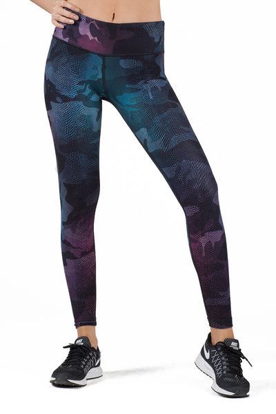 Camo Chameleon High Waist Leggings