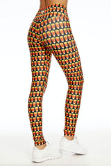 Goldsheep Candy Corn Long Legging - Sculptique