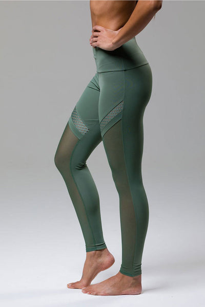 Chrome Legging - Sage