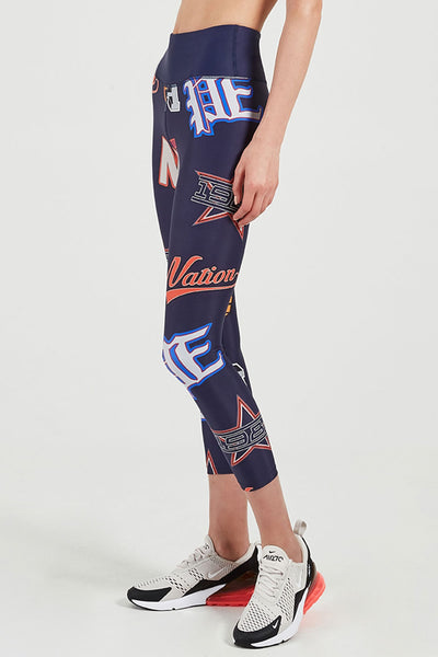 The Crash Back Legging