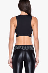 Koral Dayside Crop - Black/White - Sculptique