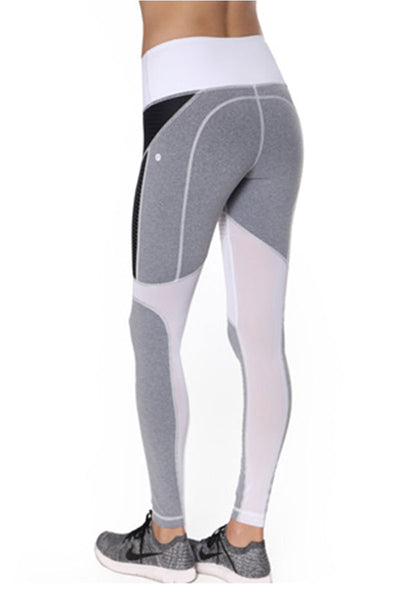 Vimmia Diligence Legging - Heather Grey/White - Sculptique