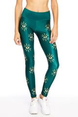 Emerald Eye Long Legging
