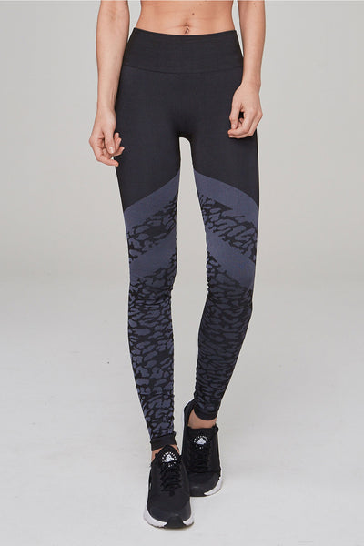 Emerson Tight - Navy Leopard