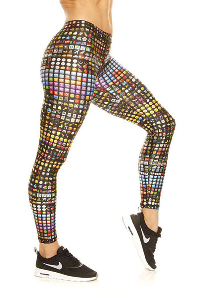 Terez Emoji Legging - Sculptique