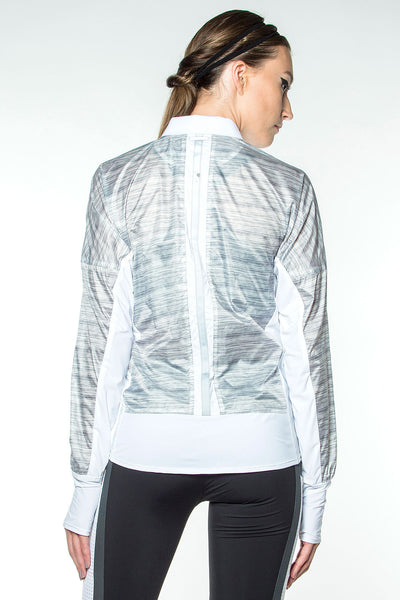 Blanc Noir Feather Weight Jacket - Sculptique