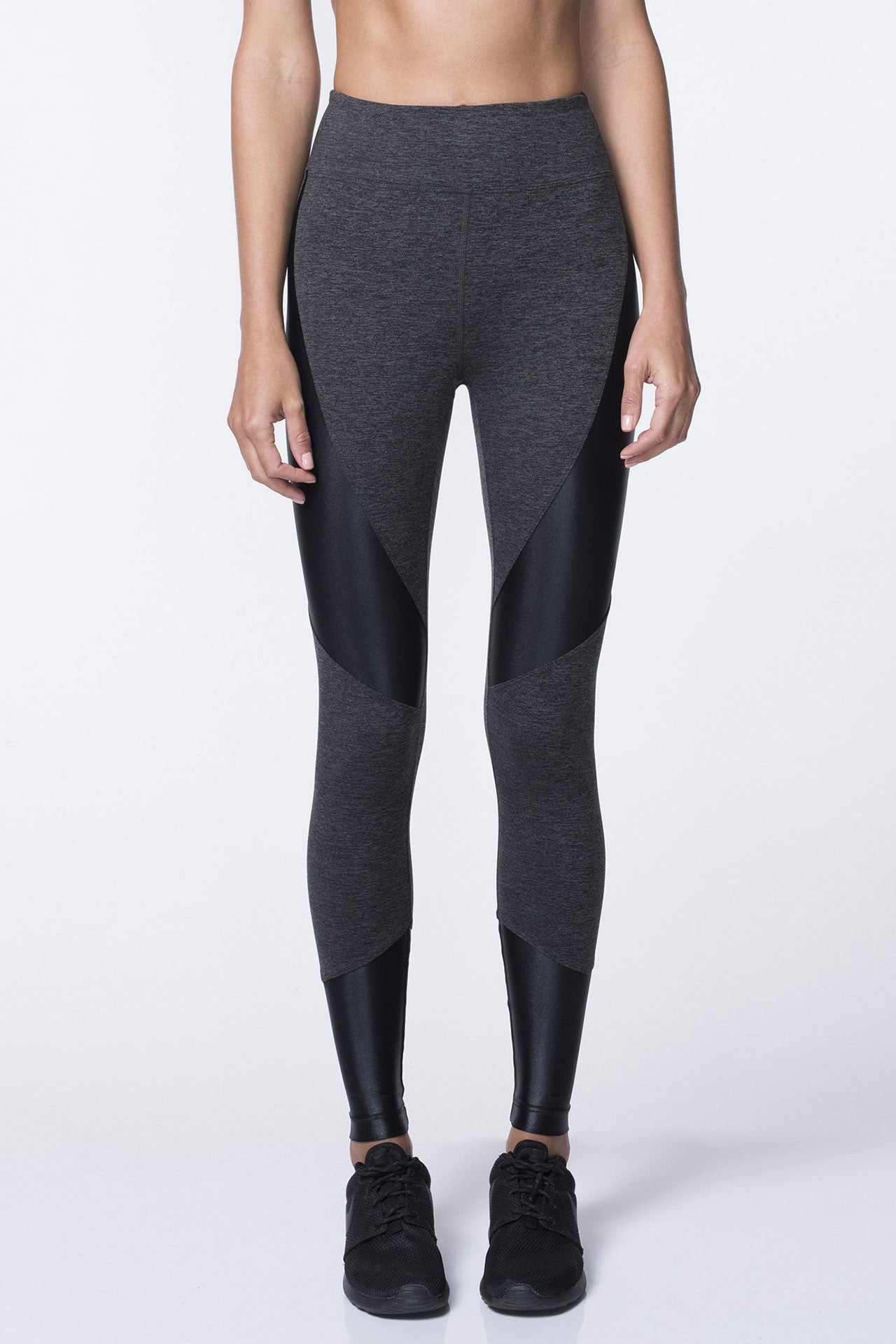 Koral Forge Legging - Dark Heather/Black - Sculptique