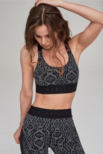 Gale Sports Bra - Midnight Python