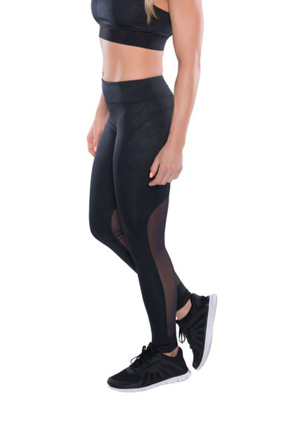 TLF GIZMO PANT - Breaking Point Embossed Black - Sculptique
