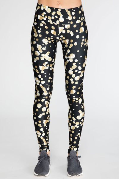 Gold Confetti Long Legging