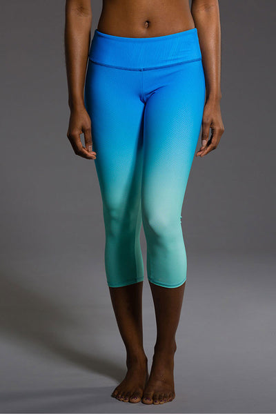Graphic Capri - Indian Blue Ombre