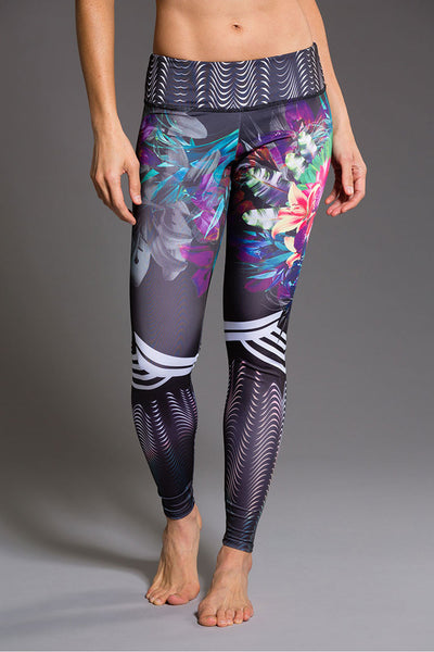Graphic Legging - Tiger Lily