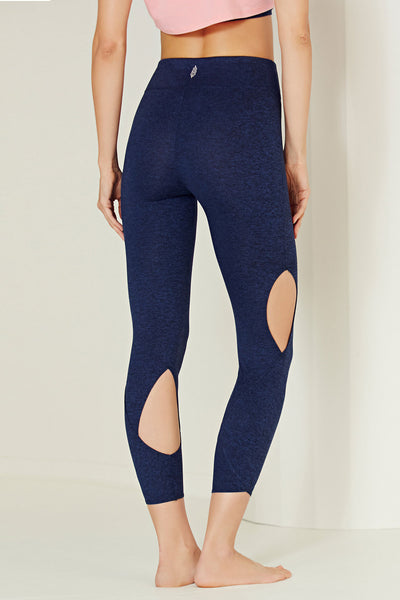 Free People Movement Halo Legging - Navy - Sculptique