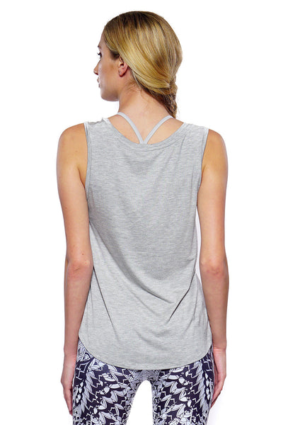 Hazel Sleeveless - Heather Grey