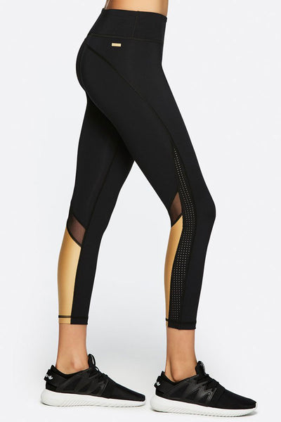 Heroine Tight - Black/Liquid Gold