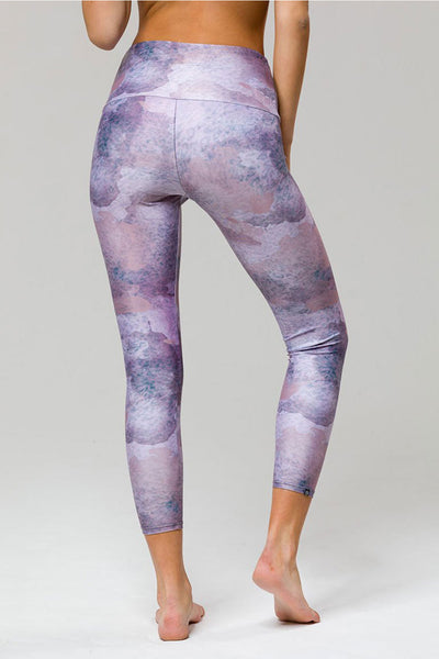 High Rise Midi Legging - Animal Dusk