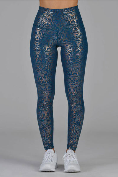 High Power Legging - Moroccan Blue