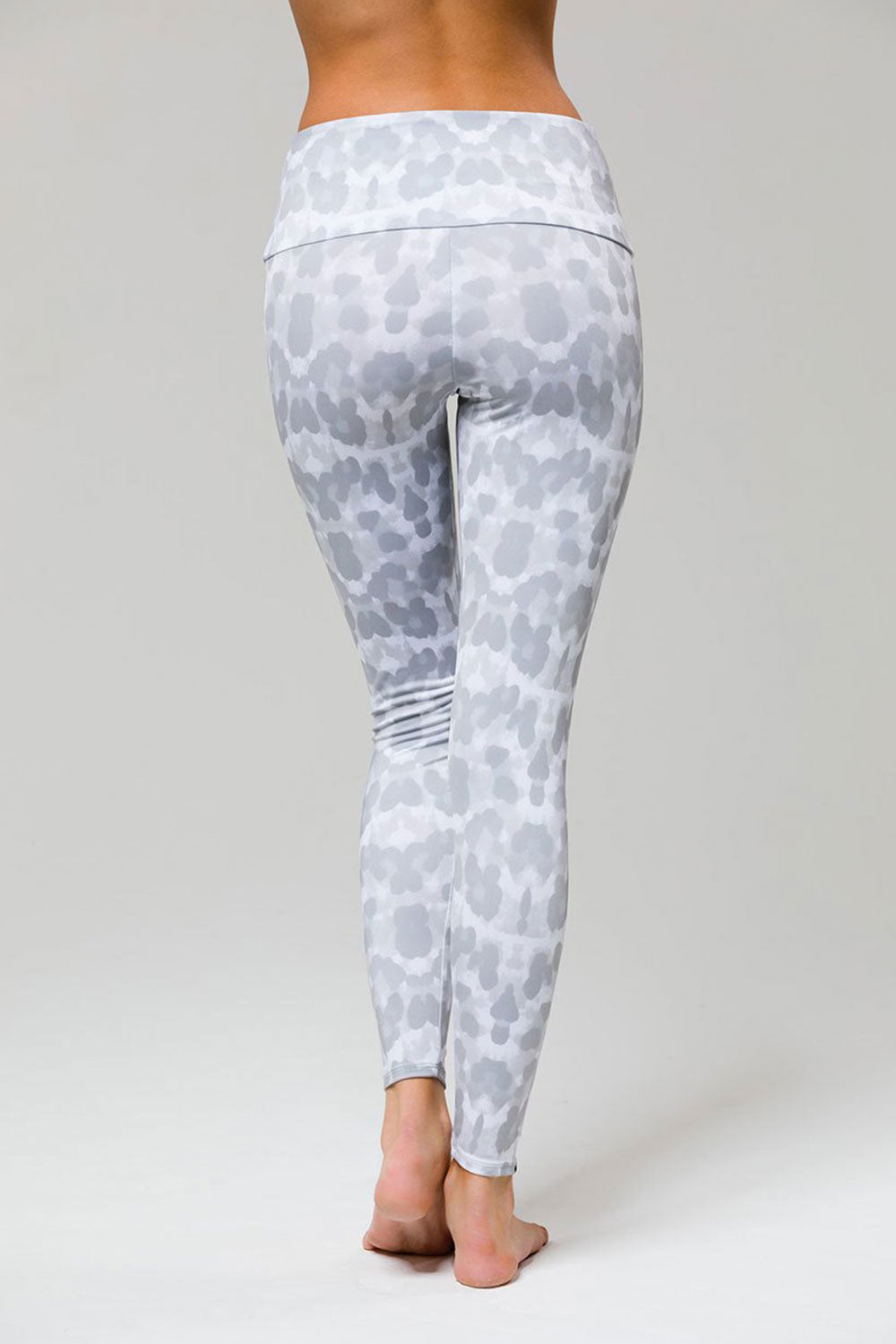 High Rise Legging - Nocturnal Leopard