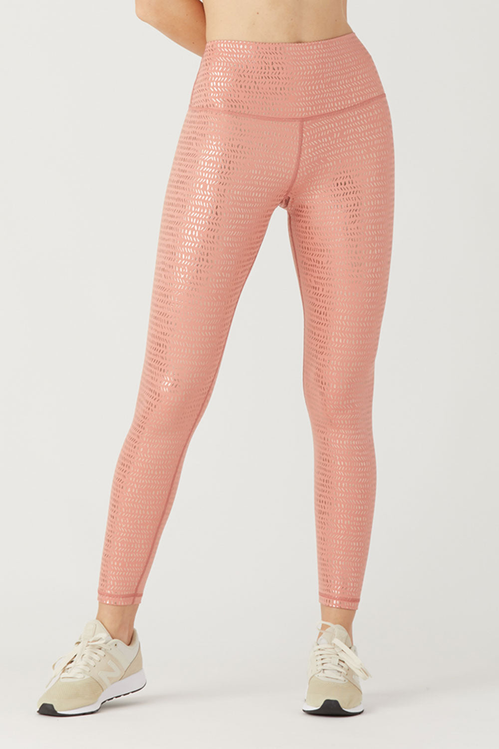 High Power Legging II - Canyon Stone Pebble Gloss