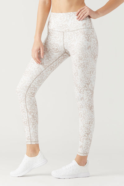 High Power Legging II - Seafloor Print
