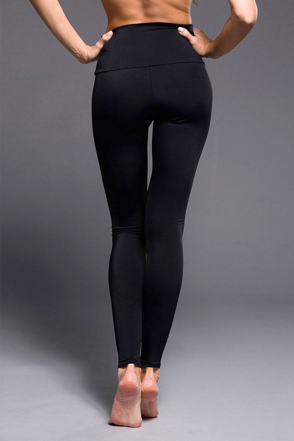 Onzie High Rise Legging - Black - Sculptique