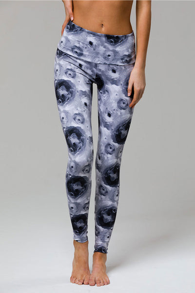 High Rise Legging - Flora