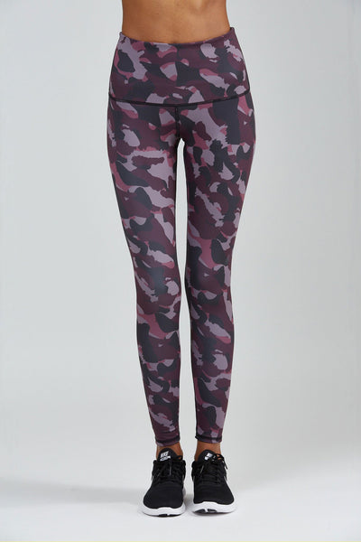Noli Yoga High Waist Camo Legging - Sculptique