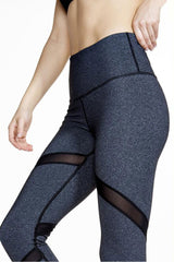 Vimmia High Waist Impact Pant - Heather Charcoal - Sculptique