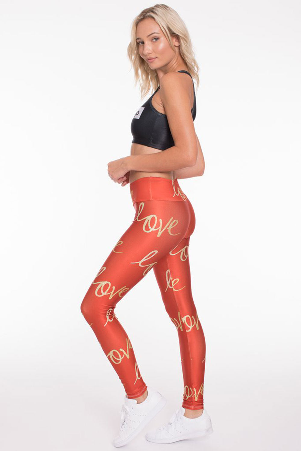 Goldsheep Holiday Love Long Legging - Sculptique