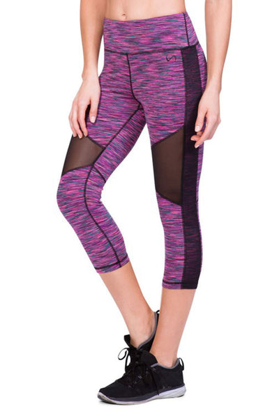 TLF HYSTERIA CAPRI - Sangria Space Dye - Sculptique