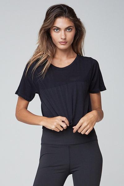 Milner Crop - Black