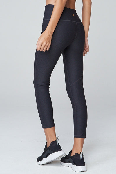Varley Everett Tight - Charcoal/Black - Sculptique