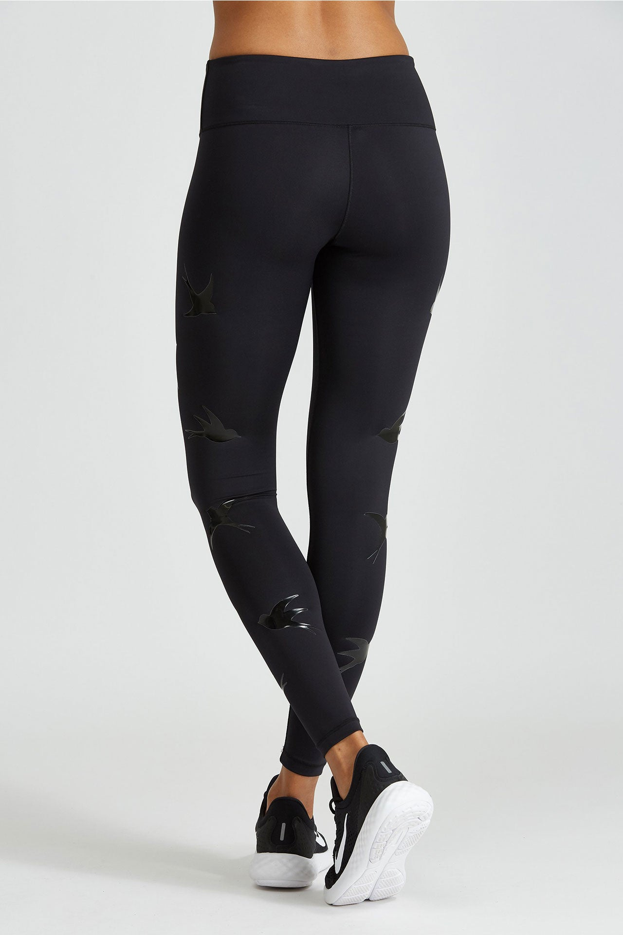 Noli Yoga Impact Legging - Black Bird - Sculptique