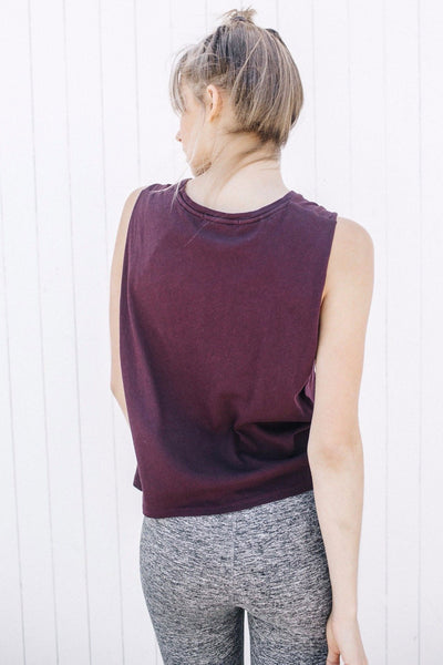Joah Brown Insider Tank - Merlot - Sculptique