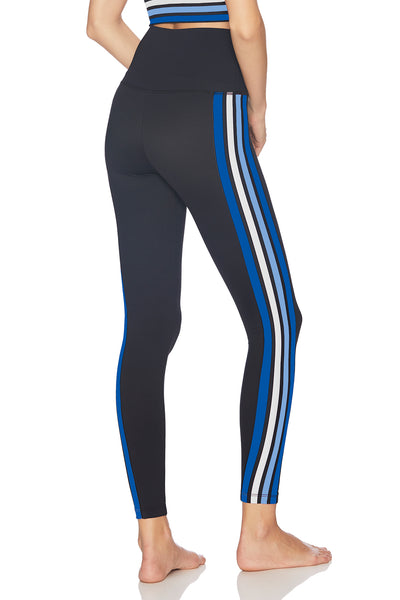 Jade Legging - Blue Stripe