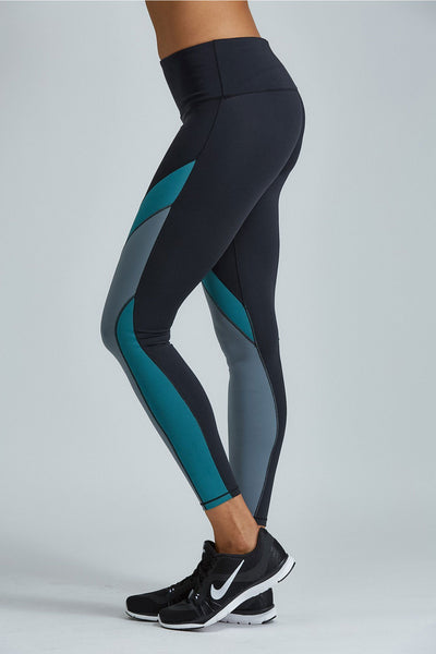 Noli Yoga Jordyn Legging - Emerald - Sculptique