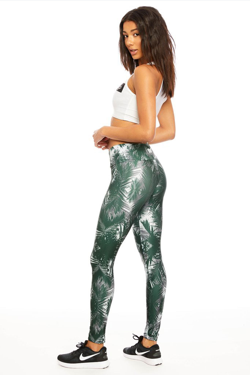 Jungle Palms Long Legging