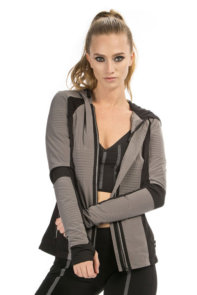 Just In Case Jacket - Charcoal
